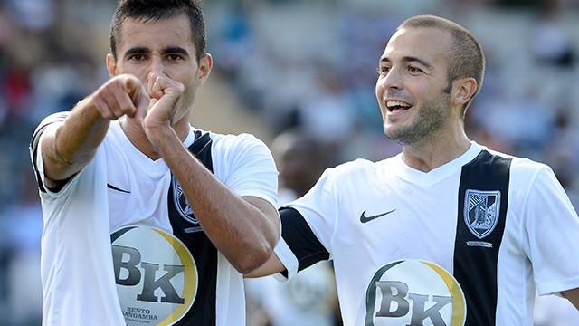 Época 2013/2014 Campeonato Liga Zon Sagres, 2.ª Jornada, Nacional - V Guimarães (  1-1  ), no Estádio da Madeira